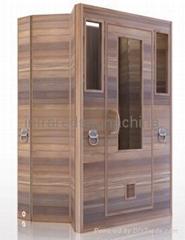 Foldable infrared sauna