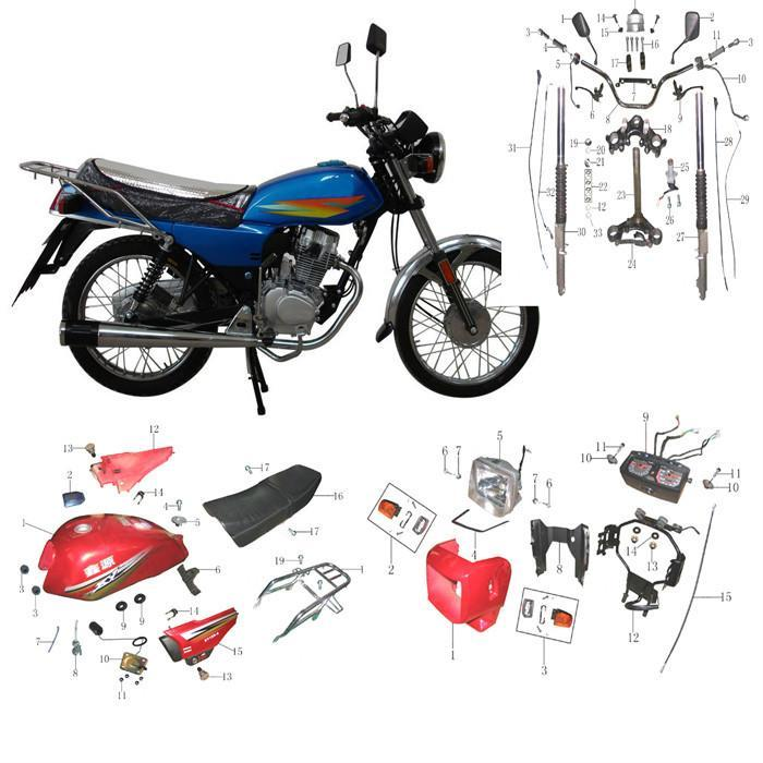 Getting More From Your Bike. There are plenty of Honda bike parts that play a role in your system performance, including everything from spark plugs and air filters to exhaust systems and engine parts. Both OEM and aftermarket Honda motorcycle parts are .
