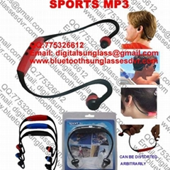 Head Sport MP3 Player with TF Card Slot china factory