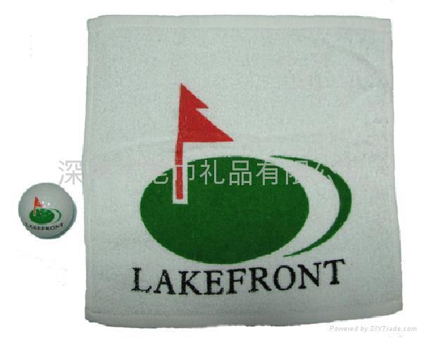 高尔夫压缩毛巾 1