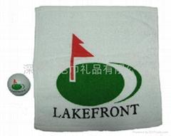 高爾夫壓縮毛巾