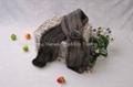 08Y Mink Fur Scarves Mink Fur Scarf Mink Fur Wraps Fur Shawl Mink Knitted Scarf  4