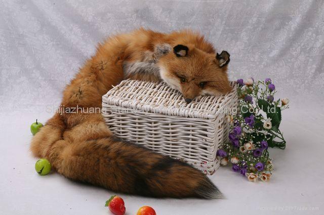 Fox Fur Scarves Fur Scarf Fox Fur Wraps Fur Shawl Fur Cape Fur Poncho 4 Colors 3