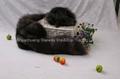 Fox Fur Scarves Fur Scarf Fox Fur Wraps Fur Shawl Fur Cape Fur Poncho 4 Colors 5