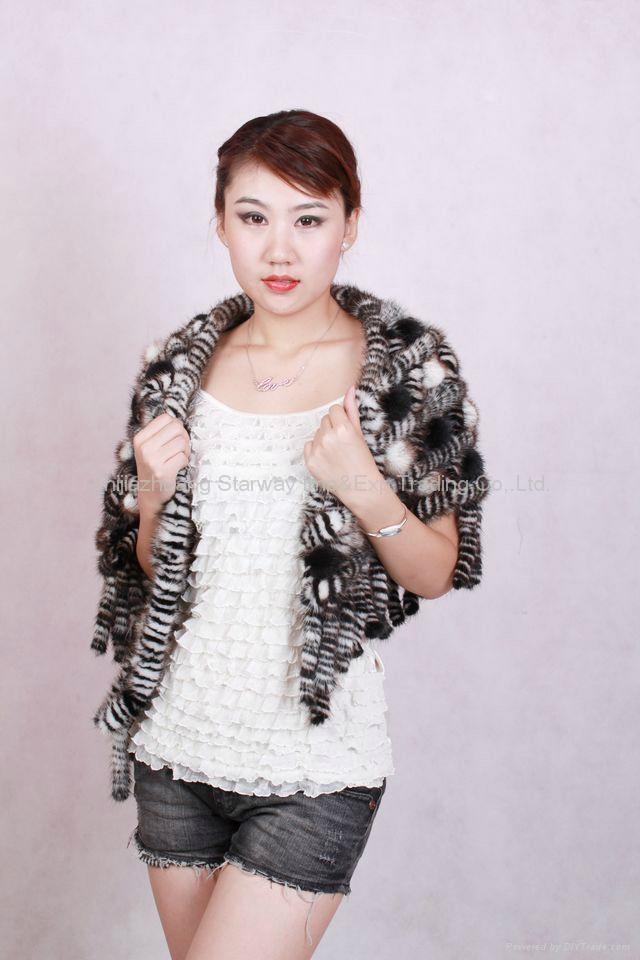 Mink Fur Poncho Fur Cape Fur Scarves Mink Fur Scarf Mink Fur Wraps Fur Shawl Min 5