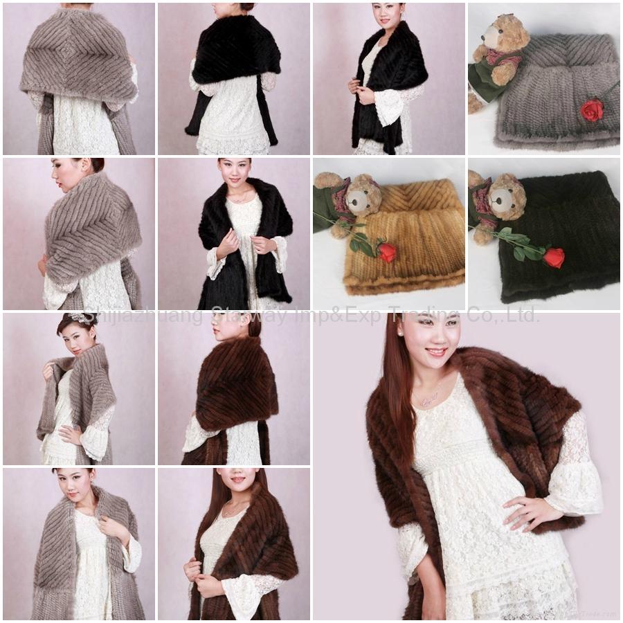 Mink Fur Poncho Fur Cape Fur Scarves Mink Fur Scarf Mink Fur Wraps Mink Fur Shaw 1