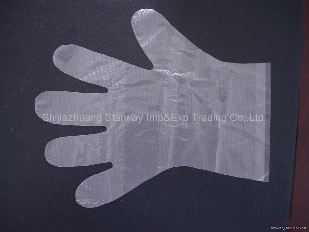 PE Gloves PolyEthylene Gloves Disposable PE Gloves  5