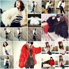 Women's Sheepskin Sheep Fur Coats Fur Jacket With 3 Colors Europe Orders 10Z