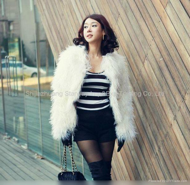 Women's Sheepskin Sheep Fur Coats Fur Jacket With 3 Colors Europe Orders 10Z 2
