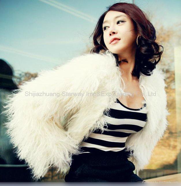 Women's Sheepskin Sheep Fur Coats Fur Jacket With 3 Colors Europe Orders 10Z 3