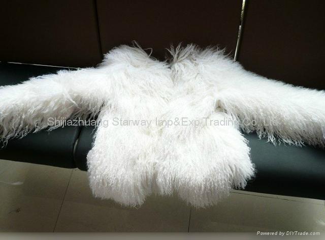 Women's Sheepskin Sheep Fur Coats Fur Jacket With 3 Colors Europe Orders 10Z 4