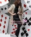 Women's Rabbit Fur Vest Coats Fur Jacket With Cap Apricot 1Z 3