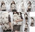 Women's Fox Fur Vests Fox Fur Coats Fox