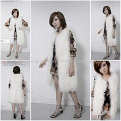 Women's Sheepskin Fur Vests Sheep Fur Vests Sheepskin Vests Sheepskin Coats Z48