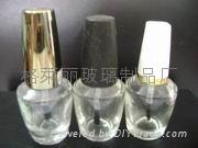 15ml透明OPI指甲油瓶配乌锥盖子毛刷现货供应