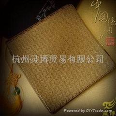 厂家供应VIP礼品丝绸鼠标垫-回纹系列 FM61
