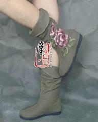 绣花女鞋靴子dx-md02