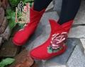 女式平跟靴子md01