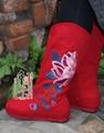 绣花布靴hh01