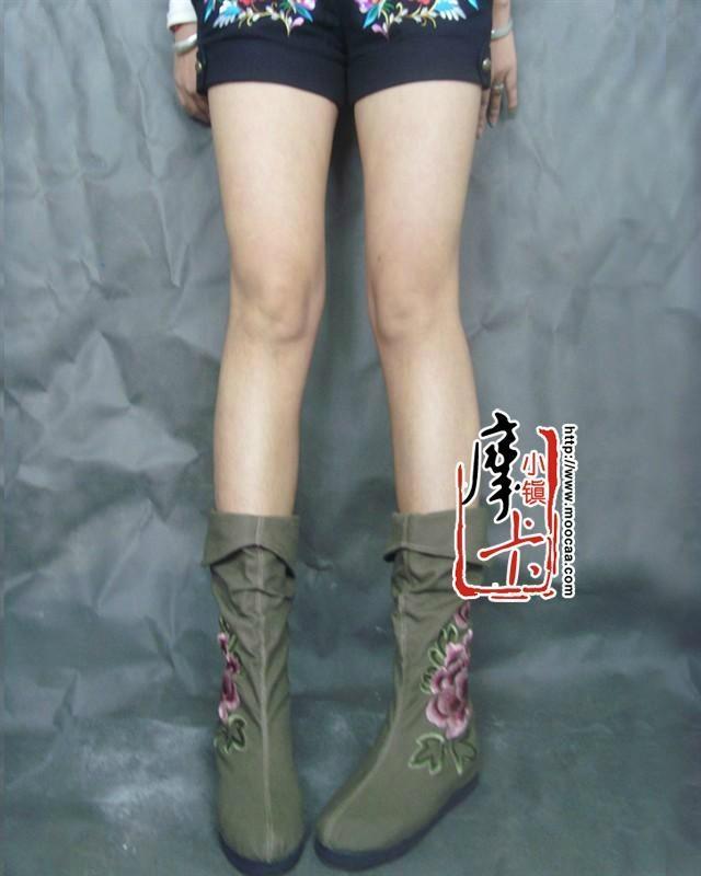 绣花女鞋靴子dx-md02 2