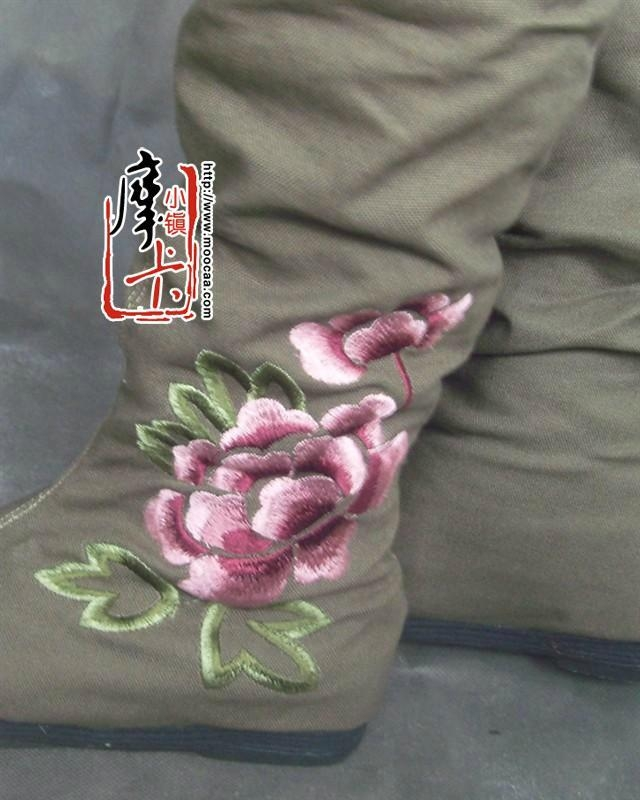 绣花女鞋靴子dx-md02 3