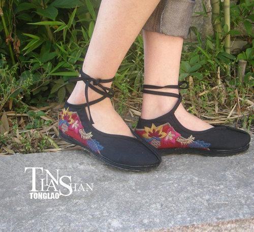 2012绣花女鞋dx-xh03 2
