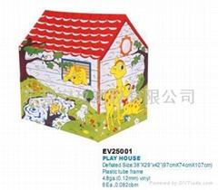 PVC充气玩具屋