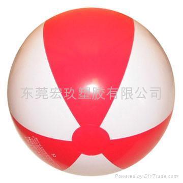 PVC充氣海攤球 1