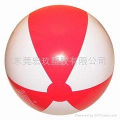 PVC充气海摊球