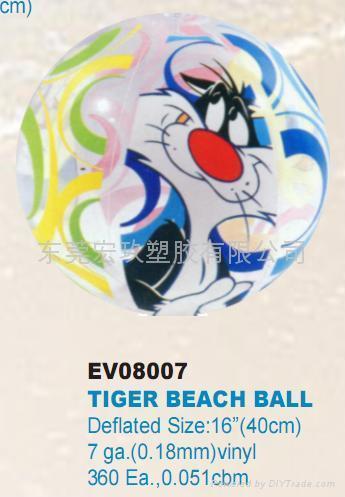 PVC充氣海攤球 4
