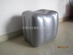 PVC充气凳子