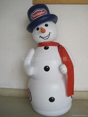 PVC充气雪人