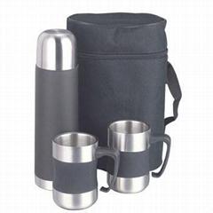 vacuum flask& travel mugs gift set