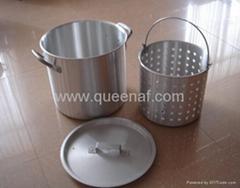 Aluminum Turkey pots
