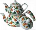 Enamel Tea Pot 2