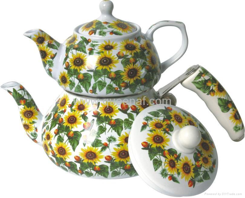 Enamel Tea Pot 3