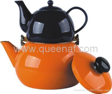 Enamel Tea Pot 2
