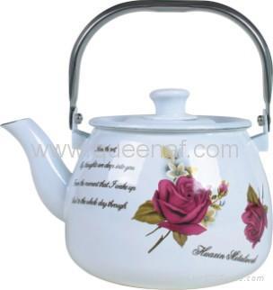 Enamel Tea Pot 3