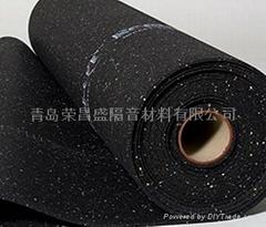 橡胶颗粒地面减震垫