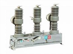 ZW32-12/630-25户外高压真空断路器