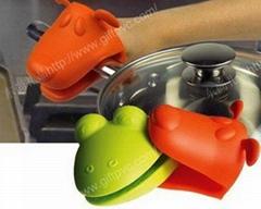 青蛙状硅胶隔热手套