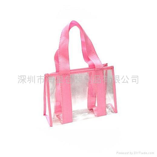 PVC手挽袋 1