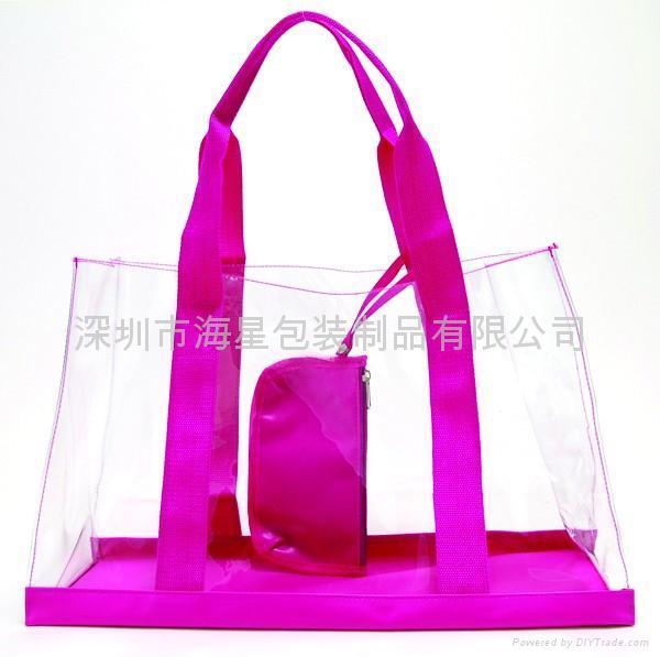 PVC手挽袋 2
