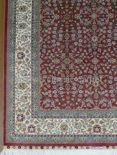 Hand made pure silk carpet Turkey Hereke design  2