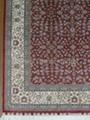 Hand made pure silk carpet Turkey Hereke design  2