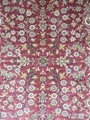Hand made pure silk carpet Turkey Hereke design  3