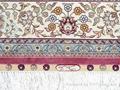 Hand made pure silk carpet Turkey Hereke design  4