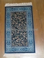 Hand made silk carpet