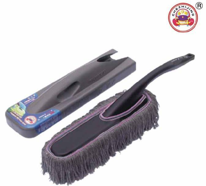 car duster with wax inside auto wax cleaning mop with plastic box. Black Bedroom Furniture Sets. Home Design Ideas