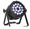 Led par light/18leds RGBA 4in1